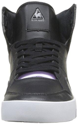 Le Coq Sportif Renaissance Mid W Syn, Baskets mode femme Noir (Black)