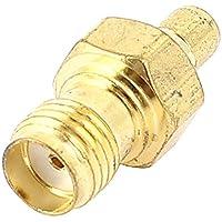 Placcato oro SMA da femmina a Jack maschio connettore RF coassiale SMB Adattatore