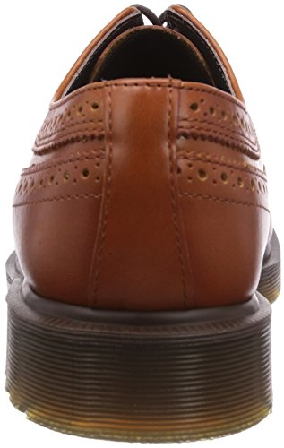 Dr. Martens 3989 Analine English Tan, Richelieu Homme Marron (tan)