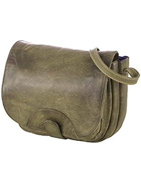 Rada Nature Überschlagtasche 'Fucecchio' echt Leder Handtasche in verschiedenen Farben