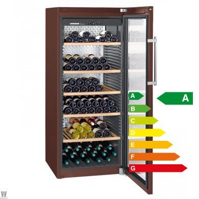 Liebherr WKT 4552 - wine coolers (freestanding, Brown, 5 - 20 °C, Stainless steel, SN, T, A) by Liebherr