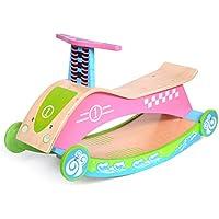 Preisvergleich für Schaukelspielzeug Schaukelpferd Kinder Holz Pferd Baby Schaukelpferd Kinder Holz Lernspielzeug Sicherheit, Umweltschutz, Gesundheit (Farbe : Pink)