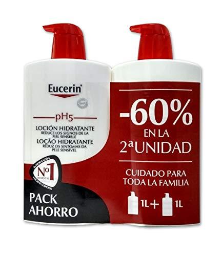 EUCERIN LOCION HIDRATANTE PH5 PACK 1L + 1L