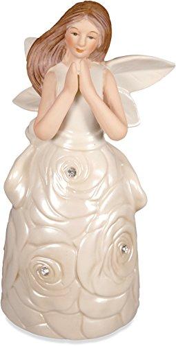 Unbekannt Angelstar 10370Radiance Porzellan Glocke Figur mit Sportschuhe -
