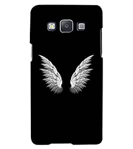 Citydreamz Wings/Feathers/Birds Hard Polycarbonate Designer Back Case Cover For Samsung Galaxy On5
