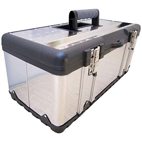 Werkzeugkiste Materialbox EDELSTAHL Type 302XXL 58x30x26 cm von AS-S
