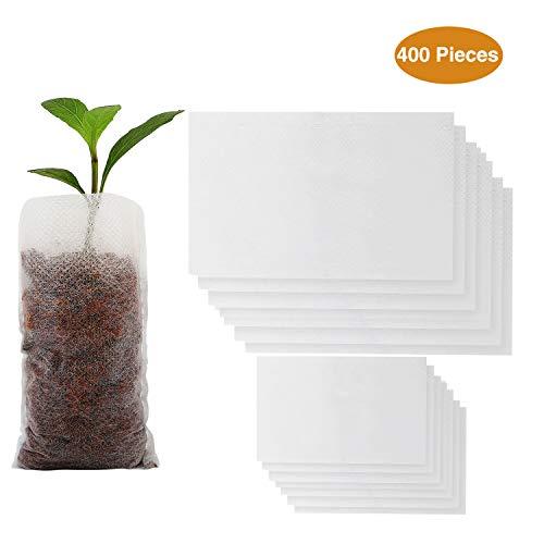 17 cm gr/üne Pflanzenbinder Pflanzenclips 160 St/ück - 17 cm com-four/® 160x Pflanzenbinder aus Kunststoff