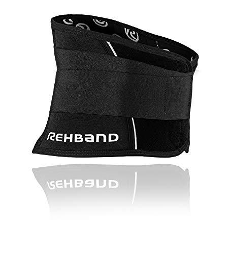 Rehband 7732 - Fascia per schiena, Grigio, XL