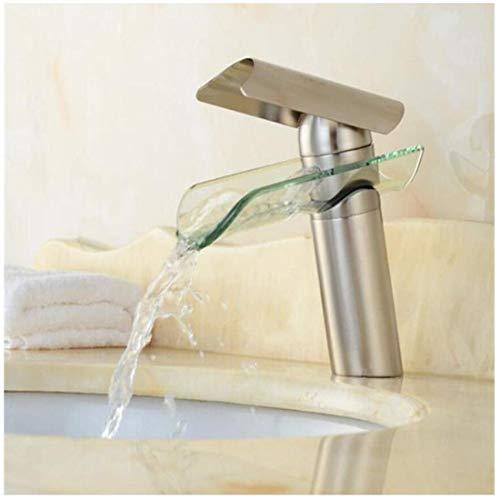 Rubinetto per cucina bagno lavabo giardino bidet vasca da bagno miscelatore lavabo il rubinetto del lavabo a cascata per bagno in ottone caldo e freddo ctzl1253