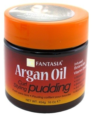 Fantasia Argan Oil Curl Styling Pudding 16 oz. (Pack of 2)