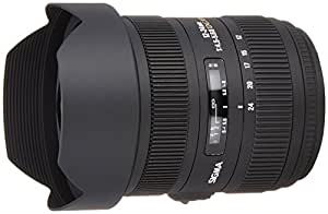 Sigma 12-24mm F/4.5-5.6 II DG HSM Zoom Lens for Canon DSLR Camera