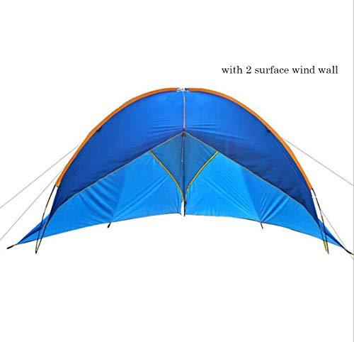 Zelt Pavillon Wasserdicht Event Shelter, Deluxe 480x480x200cm stabiles Partyzelt mit Stahlgestänge, Gazebo, Eventzelt, Sonnenschutz SPF 50+(with Surface Wind Wall) -