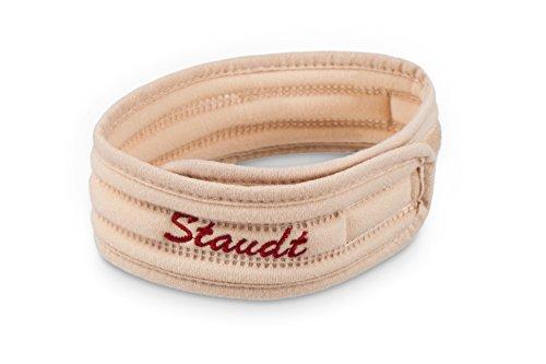 STAUDT Halsband Größe M - komfortables Halsband gegen Halsschmerzen, Heiserkeit oder beginnende Erkältungen - eine gute Alternative zu Tabletten, Tropfen, Salben (Somnishop Set)