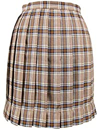Faldas De Mujer Mini Plaid Plisado A-Line Kilt Japón JK Uniforme De Cintura  Alta b936c0a638e6
