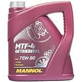 MANNOL MTF de 4 getriebeoel 75 W de 80 API ...