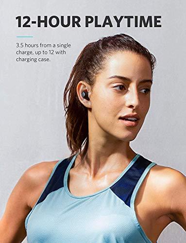 Soundcore Liberty Lite Bluetooth Kopfhörer True Wireless TWS in ear Kopfhörer von Anker, Kabellose Kopfhörer mit 12 Stunden Akkulaufzeit, Verbesserter Sound, Mikrofon und Bluetooth 5.0 - 6