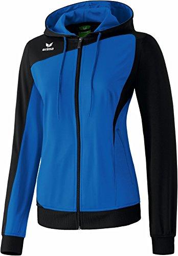 erima Damen Jacke Club 1900 Trainingsjacke mit Kapuze New Royal/Schwarz