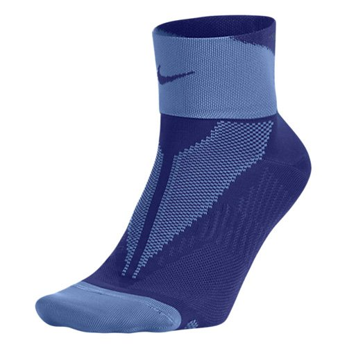 Nike Elite One Quarter-Socks Run Lightweight Multicolore