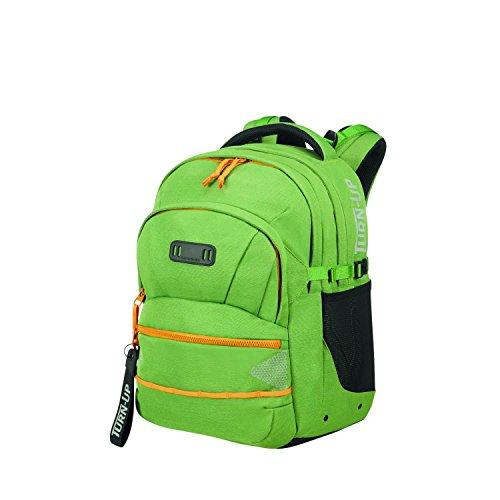 SAMSONITE Turn up - Children Backpack M Schulrucksack, 45 cm, 30.5 L, Leaf Green/Garden