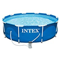 Intex 28212UK Metal Frame Pool Set, Blue, 12 ft x 30-Inch