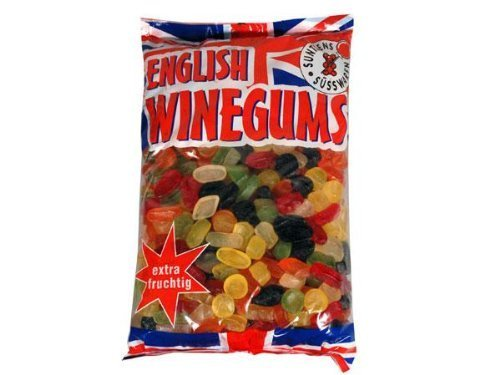 Suntjens English Winegums, 4kg