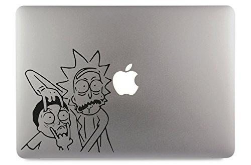 Rick and Morty Apple MacBook Air Pro Aufkleber Skin Decal Sticker Vinyl (17