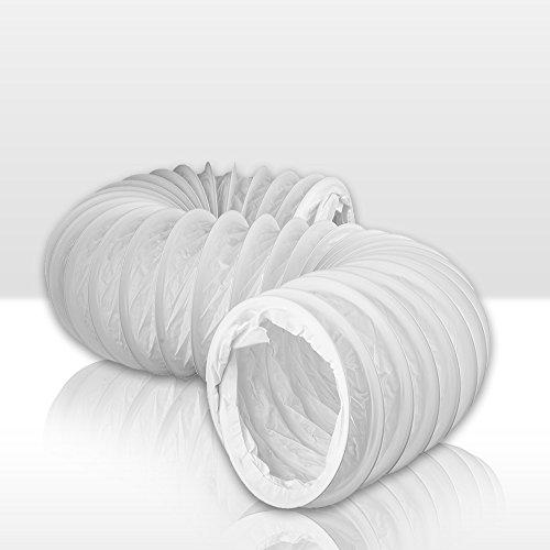 Flexibler PVC Schlauch Flexschlauch 1m , rund Ø 150 Awenta 150 mm , 100 cm