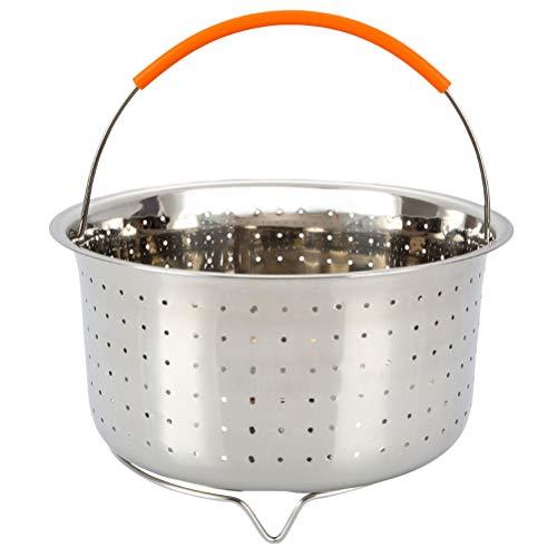 Bestonzon cestelli per cottura a vapore acciaio inossidabile con maniglia in silicone