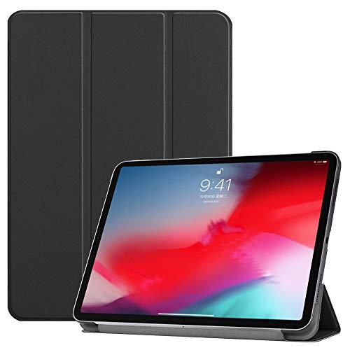 Forhouse Hülle iPad Pro 11 Inch 2018, PU Ledertasche Flip Magnet Etui Mit Standfunktion Ultra Schlanke stoßfest Schutzhülle für iPad Pro 11 Inch 2018