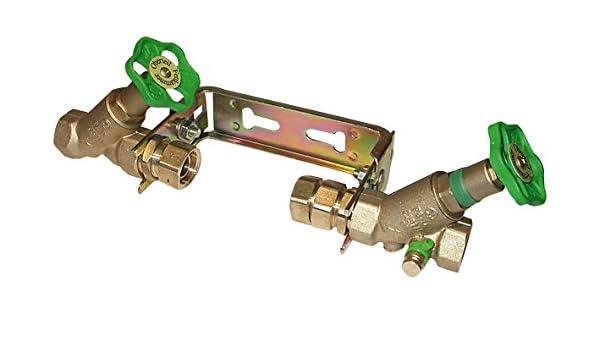 waag Wasserz/ählerb/ügel verstellbar Qn 2,5 m/³//h-1 x 1 mit Armaturen