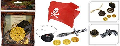 Karibik Karneval Kostüm - Eliware Kinderkostüm Piraten Set