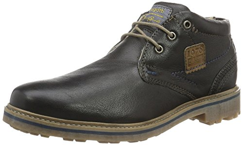 bugatti Herren 311180511000 Desert Boots Schwarz (Schwarz 1000)
