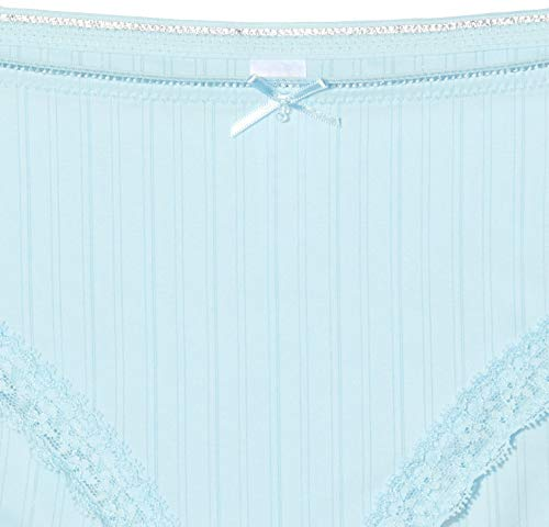 Schiesser Damen Rio Brazilian Slip, Blau (Aqua 833), 36 (Herstellergröße: 036) - 4