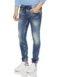 Jack & Jones Men's Ben Skinny Fit Stretchable Jeans