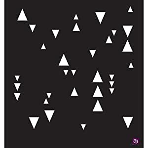 """Prima Designer Stencil 12""""X12""""-Arrowheads/ Sold as a pack of 2"""