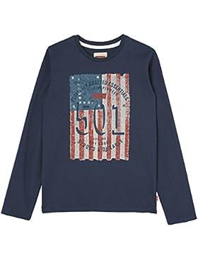 Levi's LS tee Flagg, Camiseta para Niños