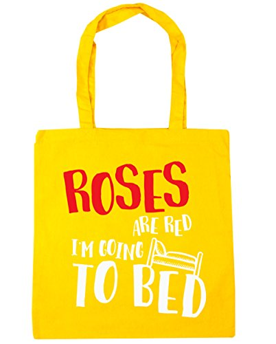 hippowarehouse-roses-are-red-im-going-to-bed-tote-shopping-gym-beach-bag-42cm-x38cm-10-litres