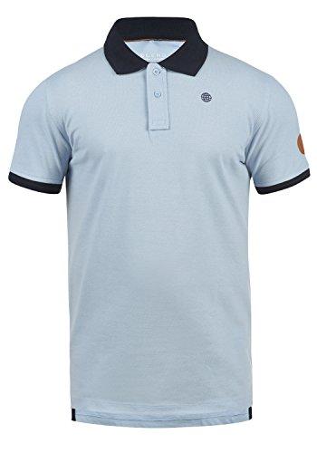 Blend Ralf Herren Poloshirt Polohemd T-Shirt Shirt Mit Polokragen Aus 100% Baumwolle, Größe:XXL, Farbe:Soft Blue (74641) -