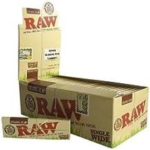 Raw Papel de Liar - Caja Completa de 50 Libros Amplios Orgánicos Sencillos