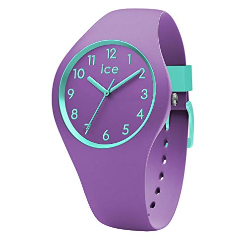 Ice-Watch - Ice Ola kids Mermaid - Lila Mädchenuhr mit Silikonarmband - 014432 (Small) (Kids-uhren)