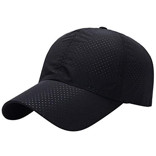 Imagen de deportes al aire libre, ciclismo, equitación, béisbol,  neta, hombres, secado rápido, sombrero de sol de verano, respiración libre qaz513