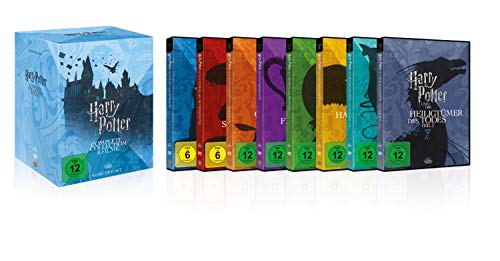 Harry Potter Complete Collection   8 Filme [Alemania] [DVD]