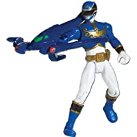 Power Ranger Megaforce - Figura de acción Megaforce Ranger, color azul (Bandai 35102)