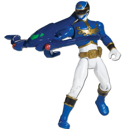 Bandai 35102 - Power Rangers Megaforce Blauer Ranger (Power Blau Ranger)