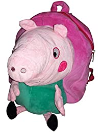 BUCA 2 In 1 Soft Bag Pack & Soft Toy For Kids - Multi Color