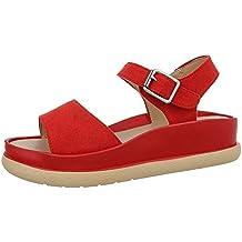 FürRote Auf Sandaletten Mit Keilabsatz Suchergebnis VUpSzM