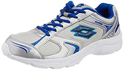 Lotto MEN Trojan Silver/Navy RUNNING Shoes 10 UK/India