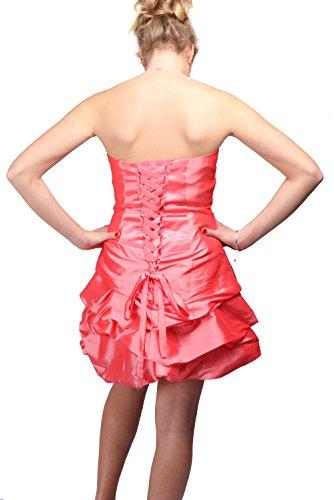 Beliza Damen Bustier Kleid rouge.N