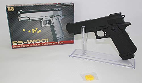 KOSxBO® Erbsenpistole für Karneval Fasching inklusive Munition max 0,49 Joule - Altersfreigabe ab 14 Jahren (Pfeffer Munition)