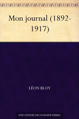 Mon journal (1892-1917)